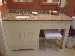 bathroom vanities with makeup station stun vanity how wide home ideas 3