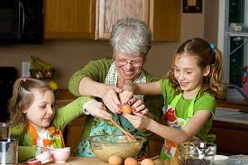 Image result for grandma with grand kids