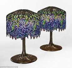the original tiffany wisteria lamps were expected to bring in between