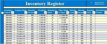 Format For Inventory List Inventory Management Template Access Stock Control Template