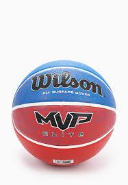 <b>Мяч баскетбольный Wilson MVP</b> ELITE BSKT RWB SZ7 купить за ...