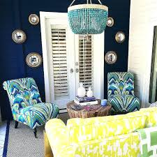 chandelier print fabric yellow and turquoise blue patio with sham turquoise outdoor chandelier chandelier print fabric