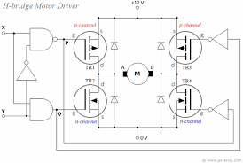h bridge driver for dc motor using mosfets H Bridge Design Circuit Diagram H Bridge Motor Driver #26