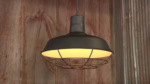 northern industrial tool hanging pendant barn light 16in