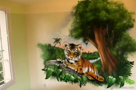 Enchanteur Deco Chambre Bebe Theme Jungle Avec Chambre Baba Tigre