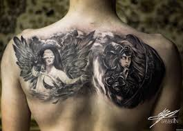 ангел и дьявол на лопатках добавлено кирилл самарин