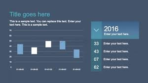 Candlestick Chart Ios Ios Style Candle Chart For Powerpoint Slidemodel