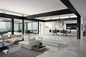 Modern and Sophisticated Living Area Interior Design of Cole House by Steve  Hermann, Los Angeles