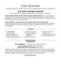 Linux Administrator Sample Resume Classy Security Specialist Resume Security Officer Resume Security