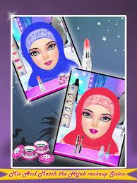hijab makeup salon makeover game 4