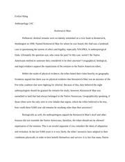 anthropology study resources 3 pages essay 1 2 4