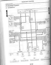 scan of headlight wiring diagram from 02 service manual nasioc just thought this would help out for many of the headlight switch drl wiring issues