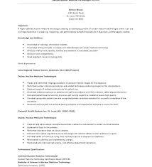 Sample Medical Technologist Resume Medical Technologist Resume ...