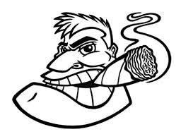 Image result for big black cigar clip art