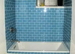 blue glass tile bathroom blue glass tile bathroom beautiful homes design hex tile bathroom floor blue