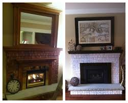 fireplace makeover easy way to update your fireplace for under 50 1