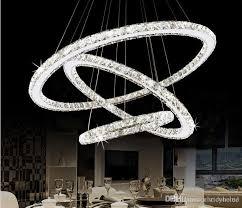 modern re led crystal chandelier lighting ceiling chandeliers light lamparas de techo hanglamp suspension luminaire lampen ceiling pendant light