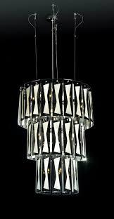 modern large crystal chandelier