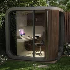 office pods garden. Curved Garden Room Pod Modern Outside Home Office Pods B