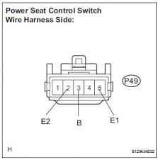 toyota sienna service manual power seat motor circuit on check wire harness