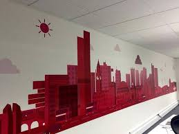 office wall murals. Custom Office Wall Mural Designed By Our Designer, Jordan Yates - Tecmark (UK) Murals A