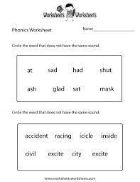 Excel. first grade phonics worksheets: Phonics Worksheets Grade ...