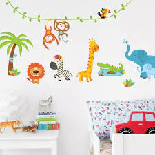 jungle wall stickers perfect for