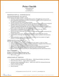 Insurance Resume Objective Resume Experience Example Design