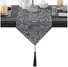 tassel table runner wedding gift al