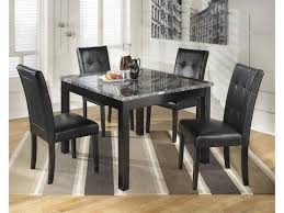 Ashley Signature Design Maysville 5-Piece Square Dining Room Table ...