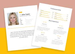 Free Word Resume Template For Software Developers Good Resume