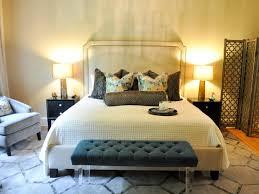 Bedroom  Transitional Bedroom Design Limestone Throws Floor Lamps - Transitional bedroom