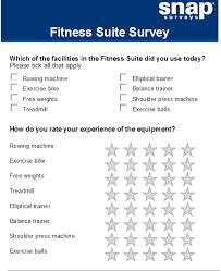 Health And Fitness Survey Questions Using Routing To Limit The Grid Questions Displayed Snap Surveys