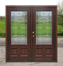 front double doorsExterior Double Doors  Solid Mahogany Wood Double Doors