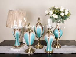 Small Picture 2016 Luxury Blue Glass Home Decoration Items Wholesale Accessories