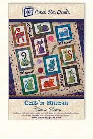 Classic Cat's Meow (pattern 18$) | Quilting; Patchwork | Pinterest ... & Classic Cat's Meow (pattern ... Adamdwight.com