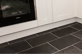 black slate floor tiles. Amazing Black Slate Tile With Riven Tiles Floor