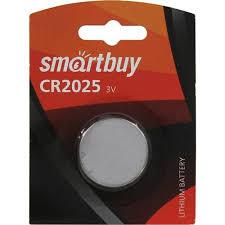 <b>Батарейка CR2025</b> Smartbuy Lithium Battery CR2025 / 1B 1 шт ...
