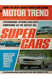 Whos Fastest Muscle Car Road Test Data 1964 1967 Hot Rod