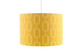 by sainsbury s mustard lamp shade