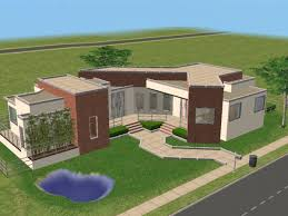 New House Download Mod The Sims Odds And Angles Modern House