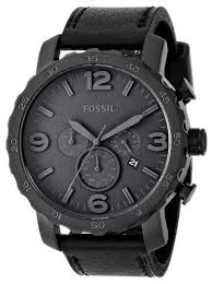 25 best ideas about fossil watches for men mens fossil mens nate chronograph leather watch black gift