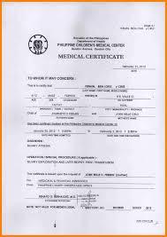 10 Medical Certificate Jpg New Hope Stream Wood