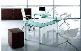 glass office table design large size of modern glass office desk black glass  desk office ideas . glass office ...