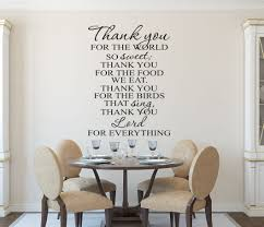 For Kitchen Wall Art Christian Wall Art Kitchen Prayer Wall Decal Wall Decals By