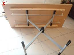 diy folding table or diy folding table makeover with diy folding bench picnic table combo