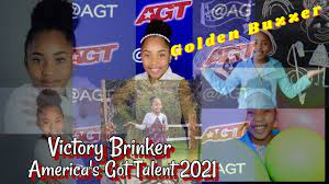 9-year-old VICTORY BRINKER gets the ...