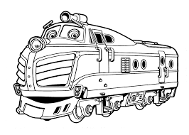 Small Picture Cartoon Chuggington Train Coloring Pages for Kids Womanmatecom