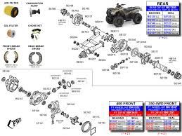bill 2006 honda rancher trx350 rebuild page 4 atv forum image atvworks trx350 rancher parts diagram honda 420 rear