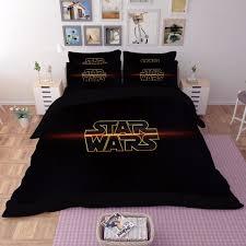 hd 5d 3d star wars bedding set king queen full twin size 3pcs black duvet